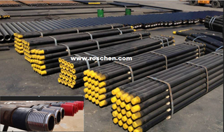 75mm Drill Pipe in coal mine tunnels drilling